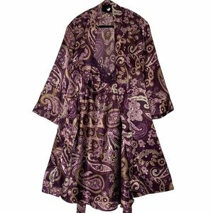 Adonna 2 pc satin nightgown and kimono rob…